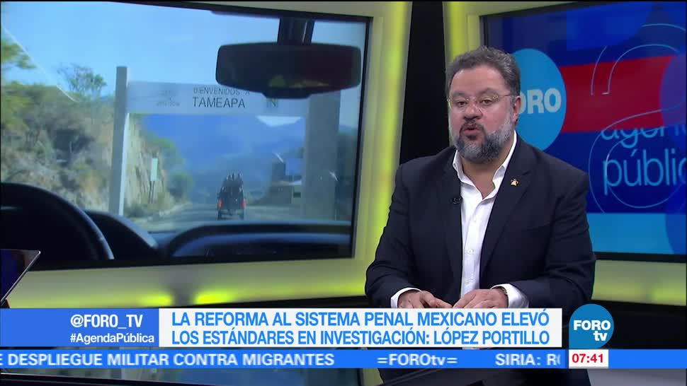 Ernesto López Portillo, especialista en seguridad, Estado mexicano, violencia