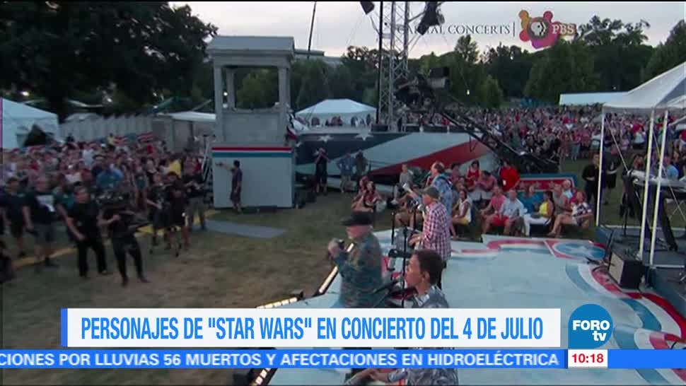 Arturito, C Tripio, escenario en Washington, orquesta sinfónica, John Williams