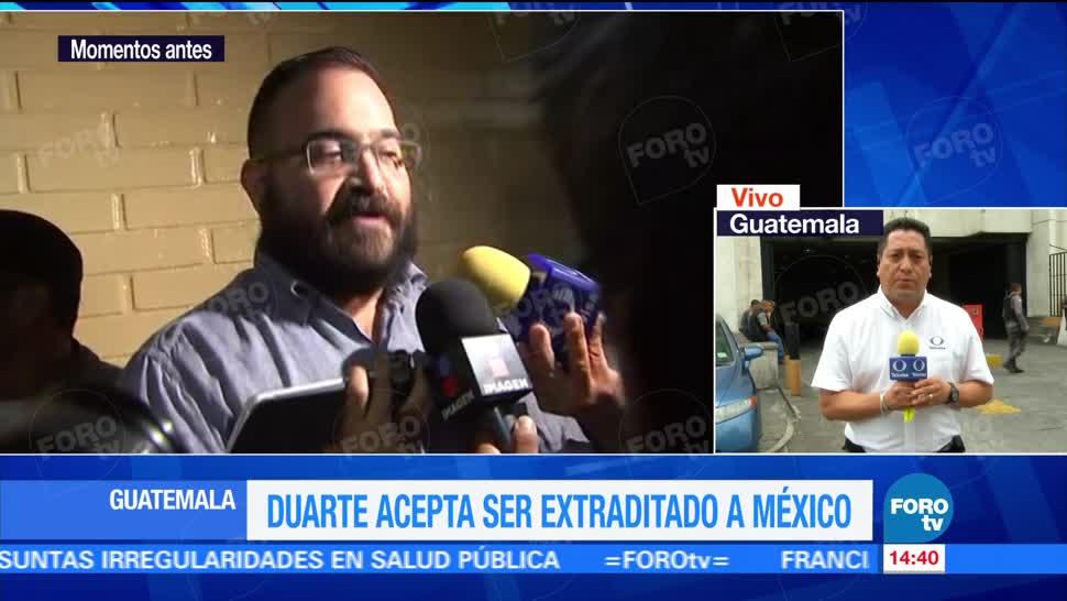 Proceso de extradición, Duarte, podría tardar, 5 días