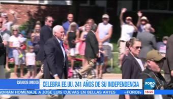 EU celebra, 241 años, independencia