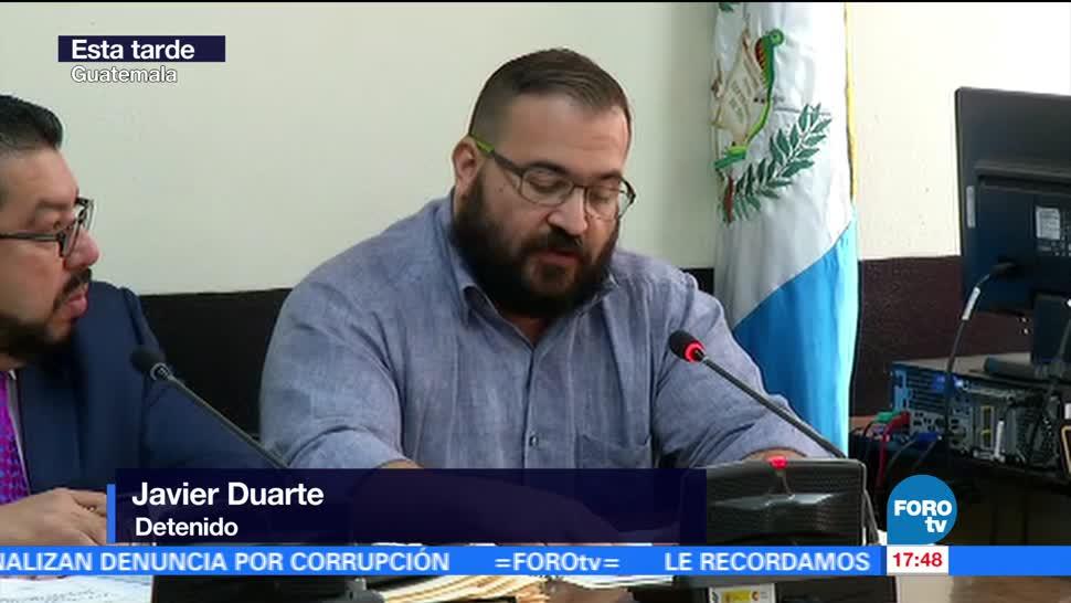 Acepta, Javier Duarte, ser extraditado, México