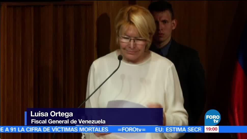 Determinarán, fiscal Luis Ortega, situación legal, Venezuela