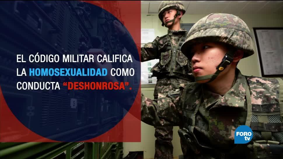 noticias, televisa, asedio, militares gay, Corea del Sur, Ejército