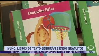 Aurelio Nuño, secretario de Educación, libros de texto, SEP, gratuitos