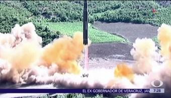 líder norcoreano, Kim Jong-un, misil intercontinental, 'bastardos estadounidenses'