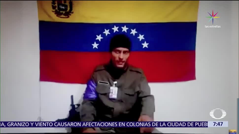 Óscar Pérez, sobrevoló un helicóptero, Venezuela, video