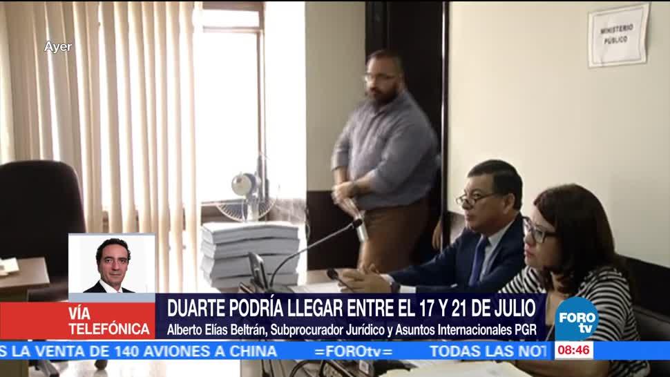 Alberto Elías Beltrán, subprocurador Jurídico, Asuntos Internacionales, PGR, México