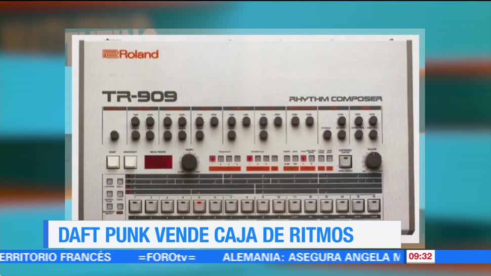 caja de ritmos, Roland TR-909, Thomas Bangalter, Daft Punk