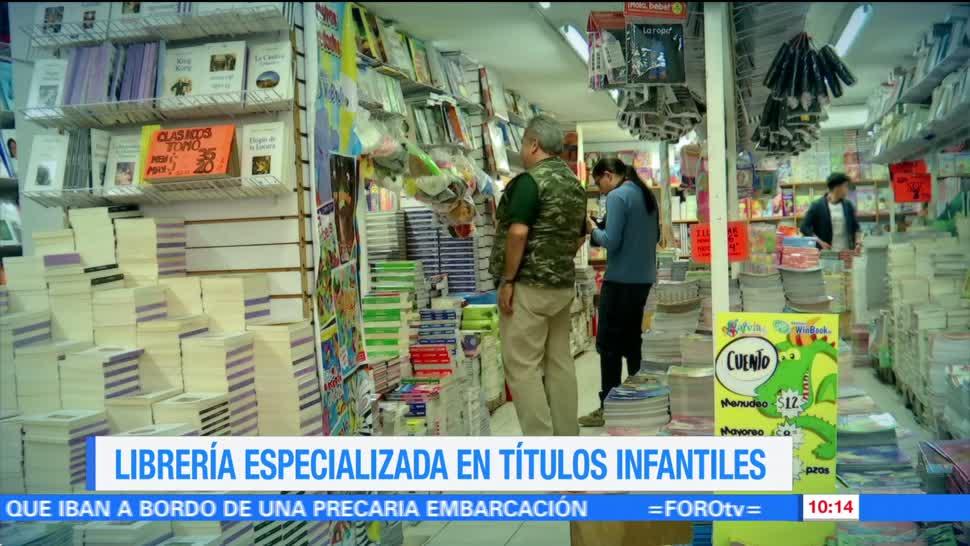 Enrique Muñoz, reportaje, librería especializada, títulos infantiles