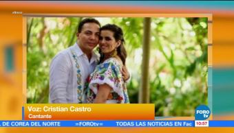 siete semanas, Cristian Castro, violinista Carol Victoria Urbán, divorcio
