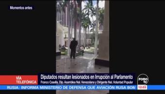 diputado, Asamblea Nacional Venezolana, Franco Casella, hombres armados
