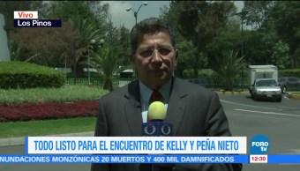 reunión, Enrique Peña Nieto, John Kelly, CDMX, agenda bilateral