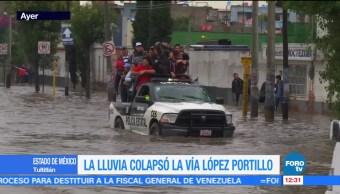 agua, Tutltitlán, Edomex, intensas lluvias