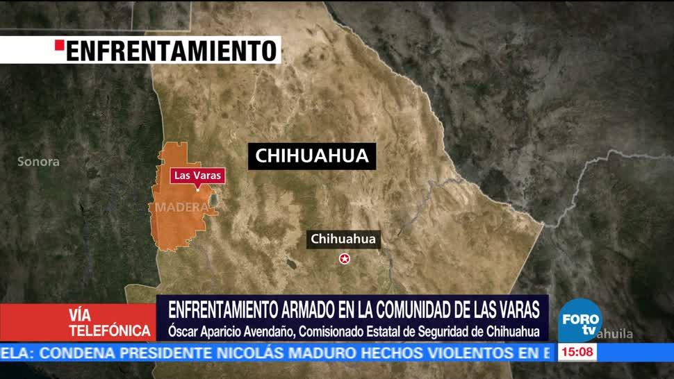 noticias, forotv, 15 fallecido, enfrentamiento, Chihuahua, Óscar Aparicio