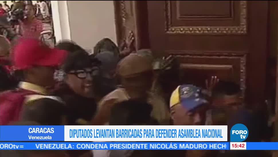 noticias, forotv, barricadas, defienden, Asamblea Venezolana, Franco Casella