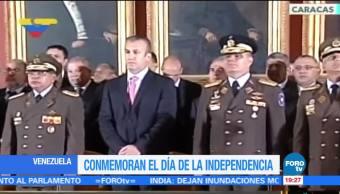 Venezuela, conmemora, Día de la Independencia, fuerzas, armadas, venezolanas