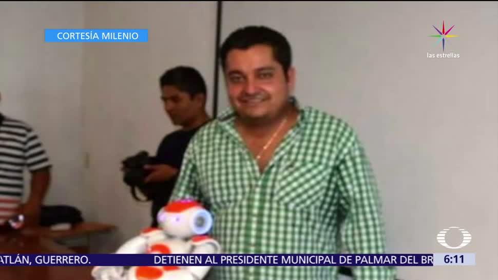 cuerpo, Manuel Rebolledo Pérez, secretario general, Petatlán, Guerrero