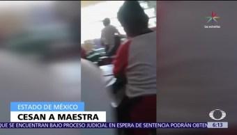 maestra, Marina Pérez Velázquez, agredió a alumno, primaria Venustiano Carranza