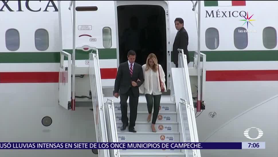 Enrique Peña Nieto, Francia, Emmanuel Macron, encuentro privado
