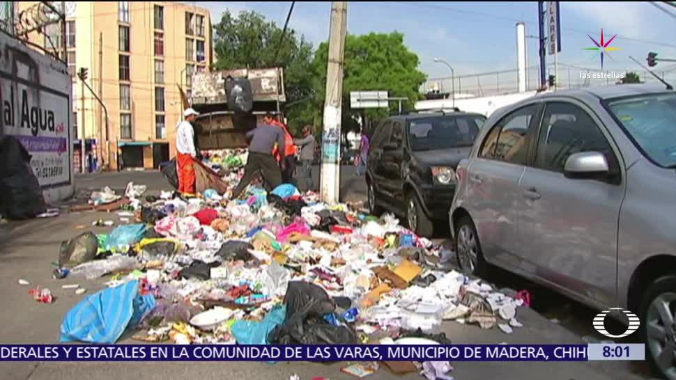 8 de julio, basura, Ciudad de México, separarse