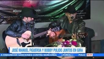 José Manuel Figueroa, Bobby Pulido, gira 'Desvelado de pasión', Puebla, agosto
