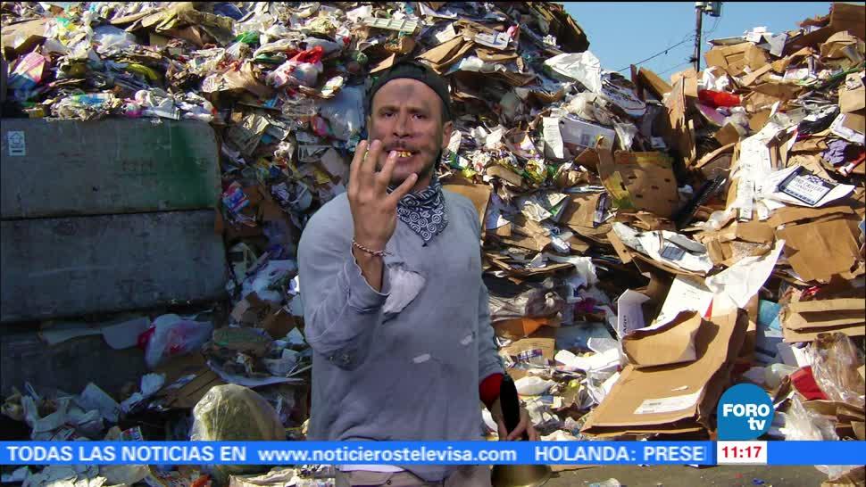 basura, desecho, exposición, arte
