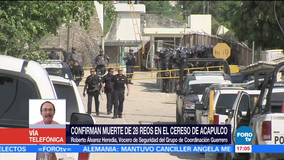 noticias, forotv, Bajo investigación, autoridades penitenciarias, Acapulco, Roberto Álvarez