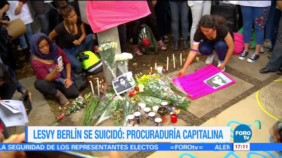 noticias, forotv, Detienen, pareja, Lesvy Berlín, no evitar su suicidio