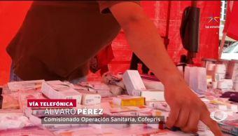 Medicamentos, robados, se venden, tianguis, medicianas, tianguis