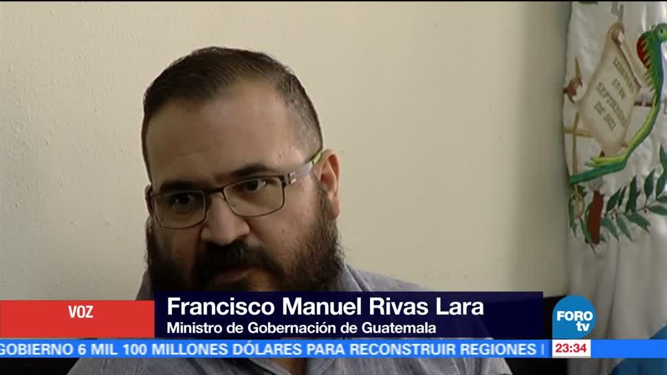 PGR, confirma, autorización extradición, Javier Duarte, corrupción, Guatemala