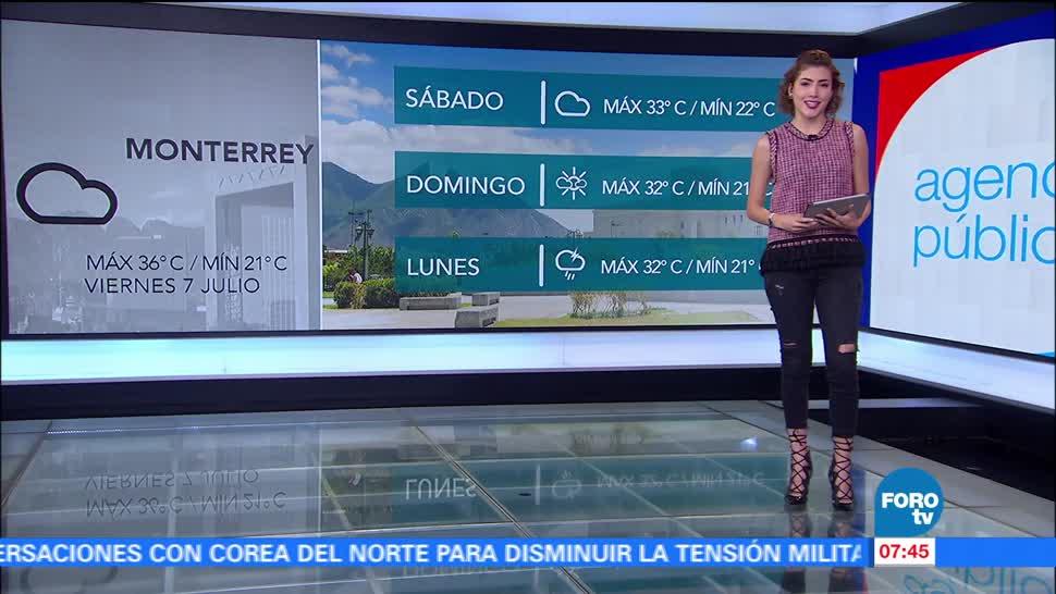 El clima, Daniela Álvarez, Onda tropical 11, provoca lluvias