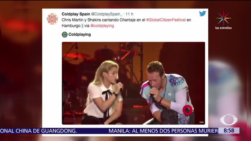 Chris Martin, Shakira, Festival Global Citizen