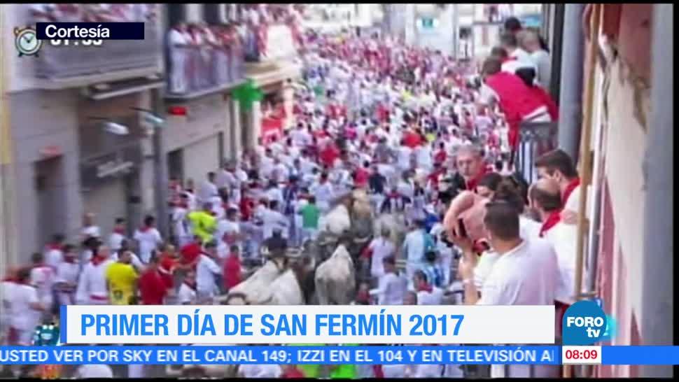 Inicia, fiesta de San Fermín, Pamplona