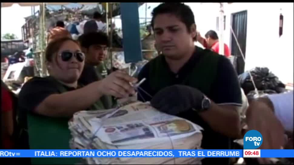 importancia, enseñar, reciclar, Consuelo Mendoza
