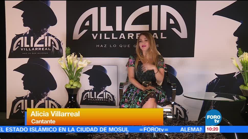 LoEspectaculardeME, Alicia Villareal, regreso a la música