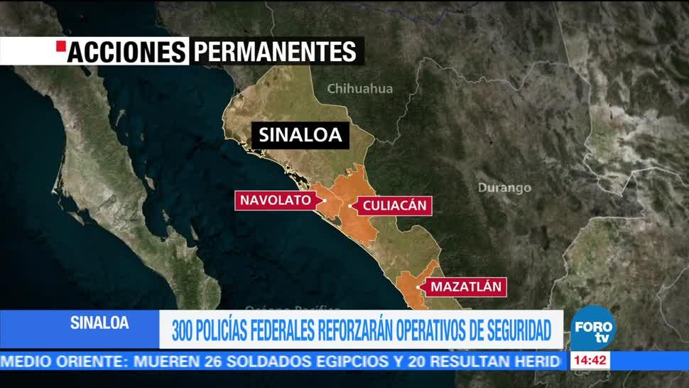 noticias, forotv, Refuerzan, operativos de seguridad, Sinaloa, Autoridades federales