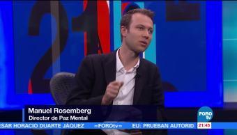 Enfermedades, demenciales, tercera, edad, Manuel Roemberg, Paz Mental