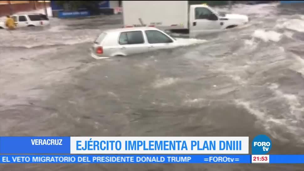 Ejército, mexicano, implementa, plan DN III, Veracruz, boca del rio