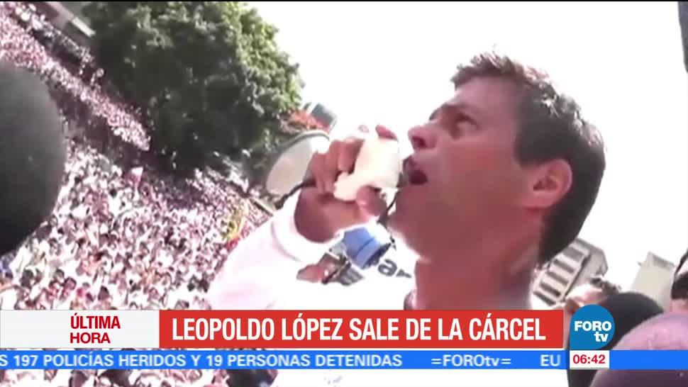 Conceden, domiciliario, Leopoldo López, opositor