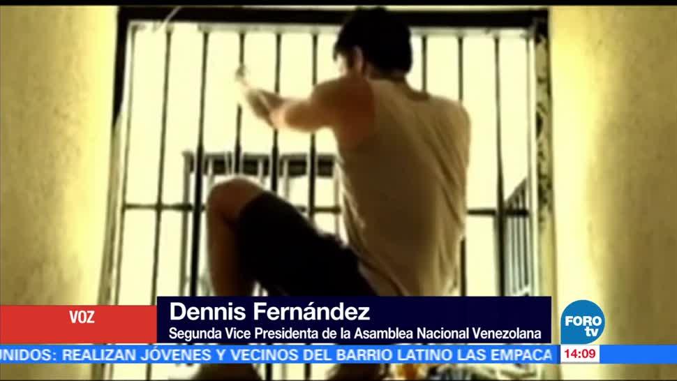 Diputada, Dennis Fernández, Leopoldo López, prisión domiciliaria