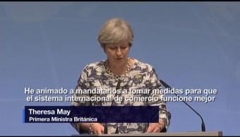 Entablaremos, nuevas relaciones, comerciales, Theresa May, RU, UE