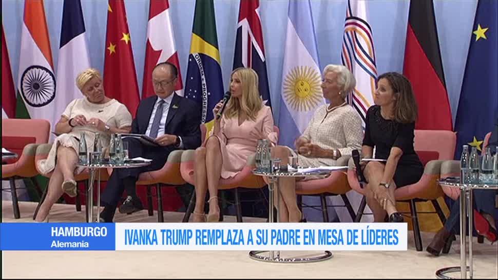 Ivanka Trump, remplaza, padre, Donald Trump, Cumbre, G20,