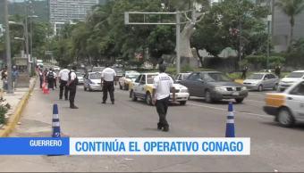 Guerrero, combate, robo, vehículos, operativo, Fuerza Conago