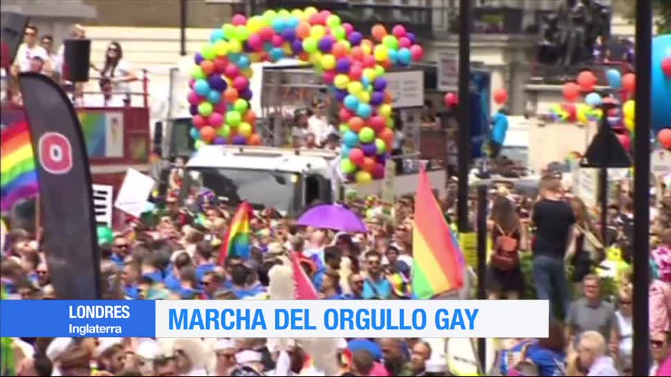 Realizan, marcha, orgullo gay, Londres, comunidad, lgbttti