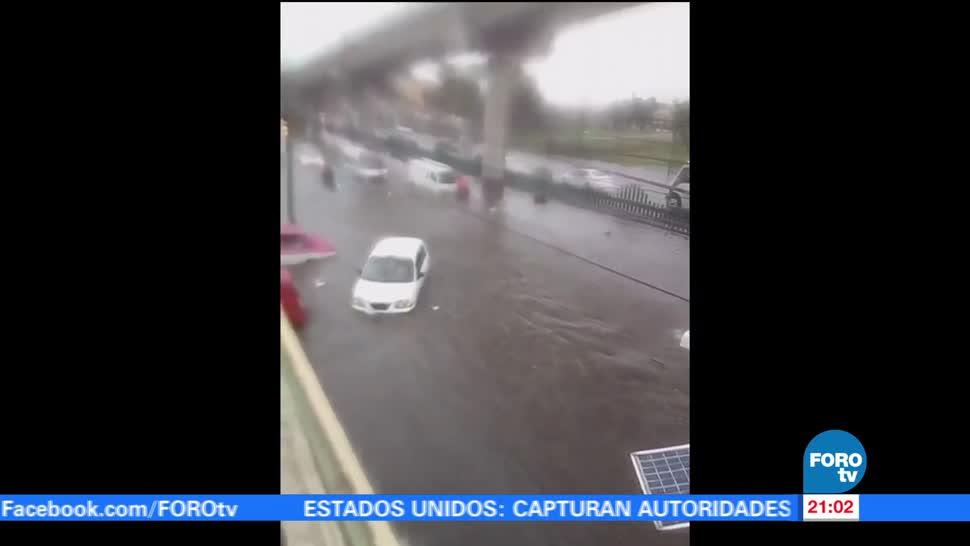 Lluvia, causa, afectaciones, Coacalco, Tultitlán, Estado de México
