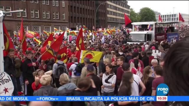 Cumbre del G20, Hamburgo, Alemania, manifestaciones