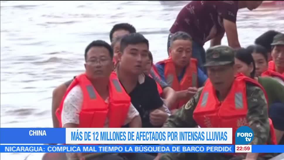 Decenas, Muertos, Inundaciones, China, Intensas, Lluvias