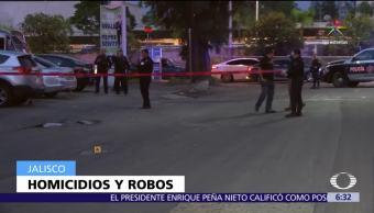 Zapopan, Guadalajara, Jalisco, asesinan a personas, roban vehículos
