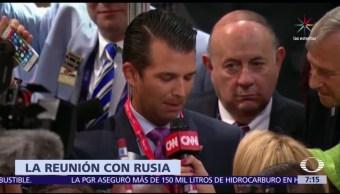 Donald Trump Jr, presidente, Hillary Clinton, abogada rusa