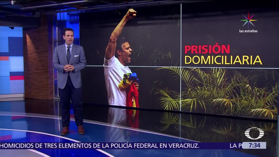 gobierno de Nicolás Maduro, liberar al opositor, Leopoldo López, encarcelado